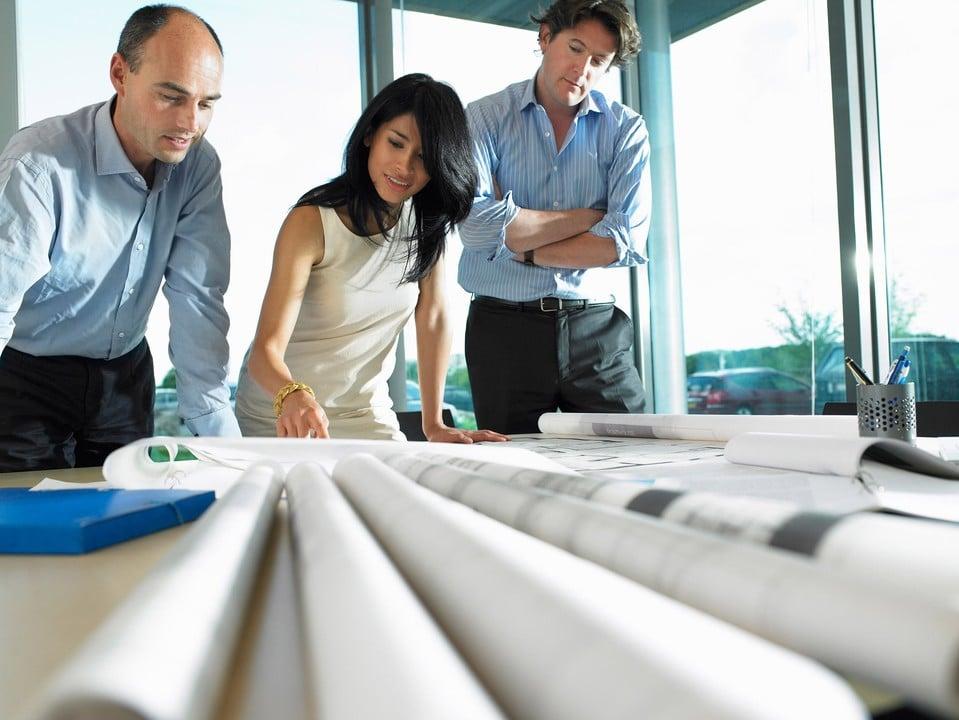 réflexion architectural dans une entreprise