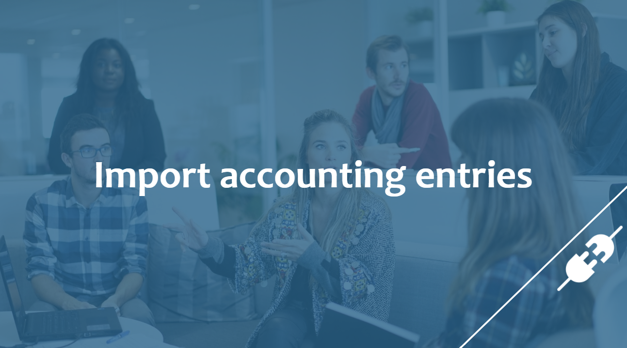 import accounting entries